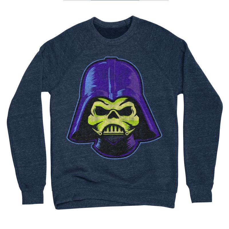 Skelevader Men's Sponge Fleece Sweatshirt by Gamma Bomb - Explosively Mutating Your Look