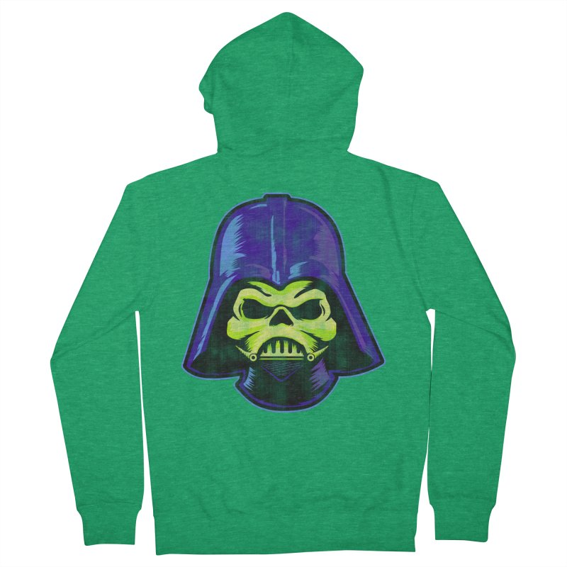 Skelevader Women's Zip-Up Hoody by Gamma Bomb - Explosively Mutating Your Look