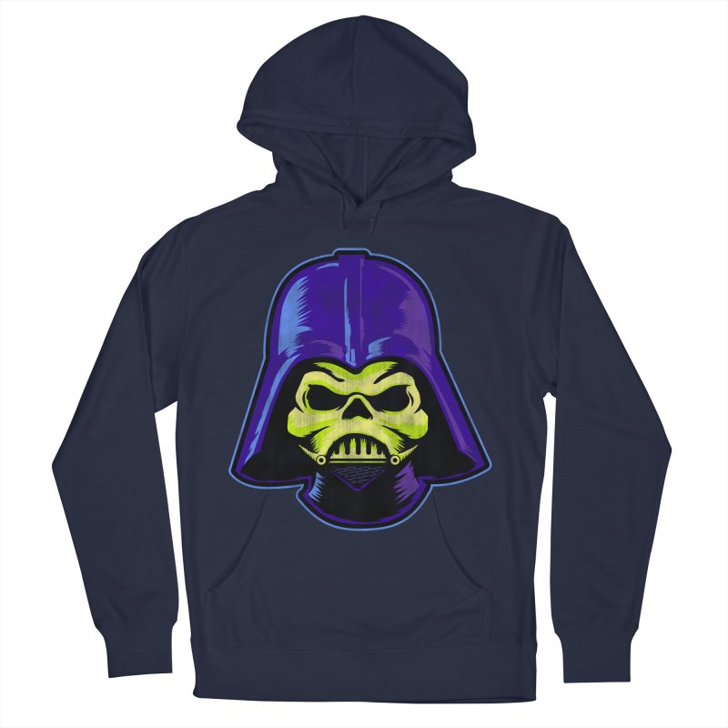 Skelevader Women's French Terry Pullover Hoody by Gamma Bomb - Explosively Mutating Your Look