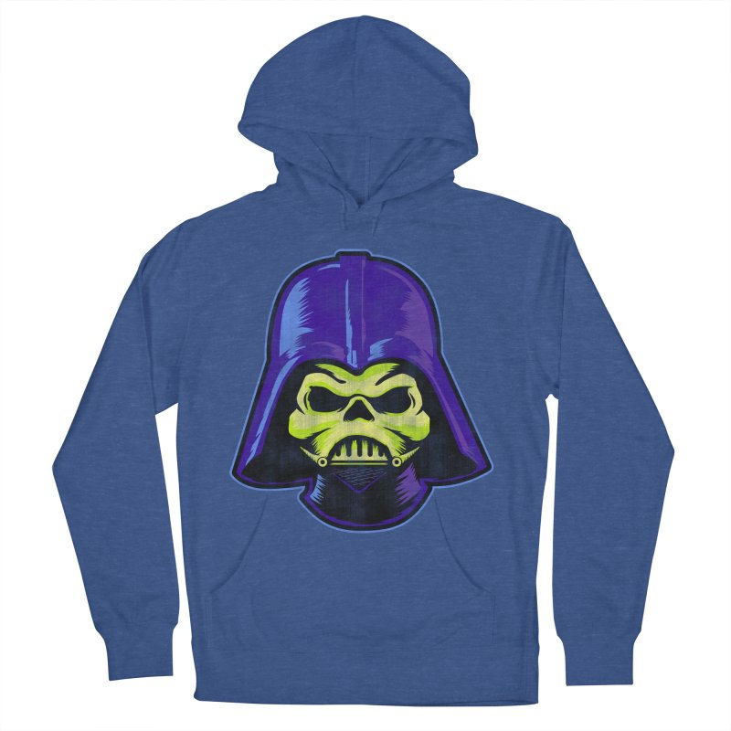 Skelevader Men's French Terry Pullover Hoody by Gamma Bomb - Explosively Mutating Your Look