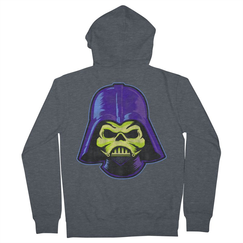 Skelevader Women's French Terry Zip-Up Hoody by Gamma Bomb - A Celebration of Imagination