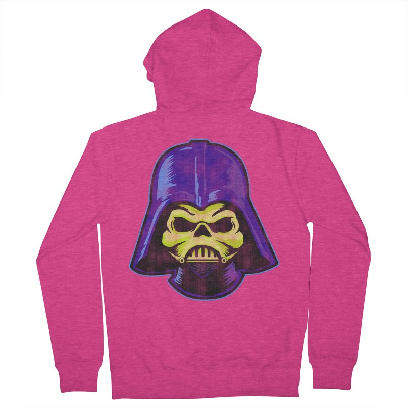 Skelevader Women's French Terry Zip-Up Hoody by Gamma Bomb - Explosively Mutating Your Look