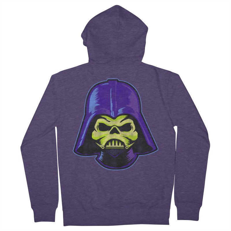 Skelevader Men's French Terry Zip-Up Hoody by Gamma Bomb - Explosively Mutating Your Look