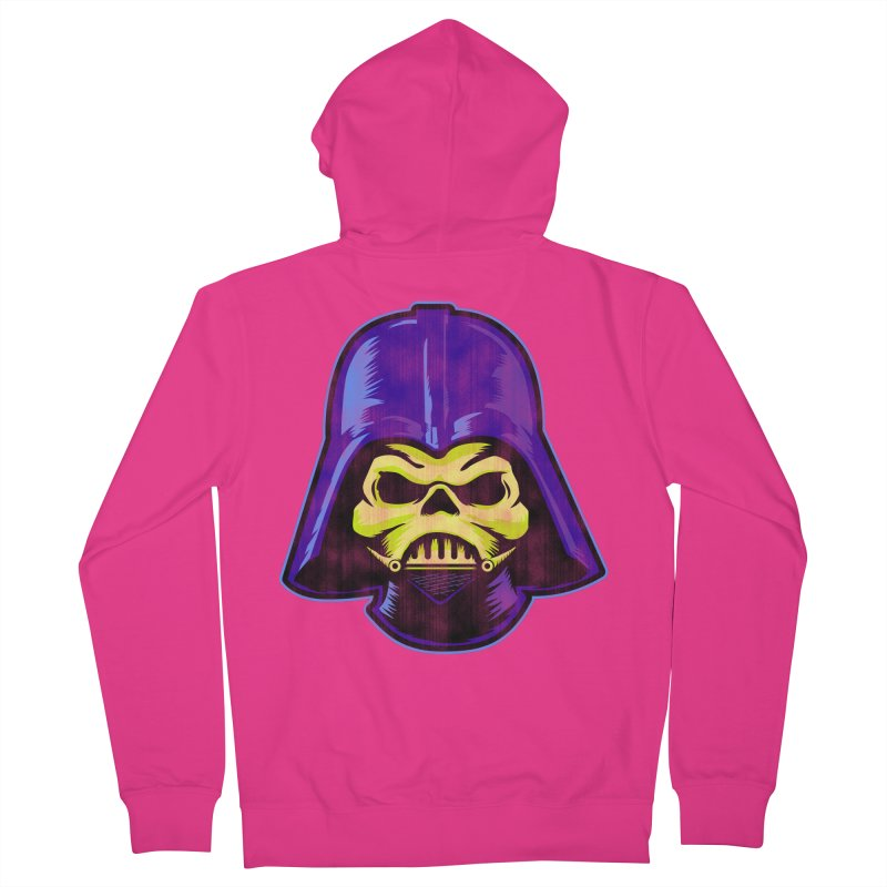 Skelevader Men's French Terry Zip-Up Hoody by Gamma Bomb - A Celebration of Imagination