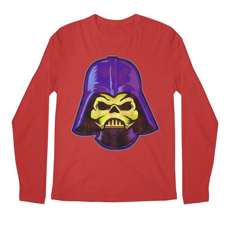 Skelevader Men's Regular Longsleeve T-Shirt by Gamma Bomb - Explosively Mutating Your Look