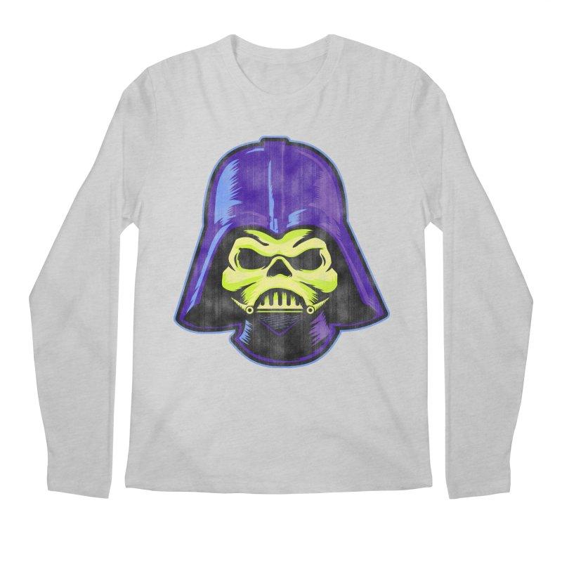 Skelevader Men's Regular Longsleeve T-Shirt by Gamma Bomb - Explosively Mutating Your Look