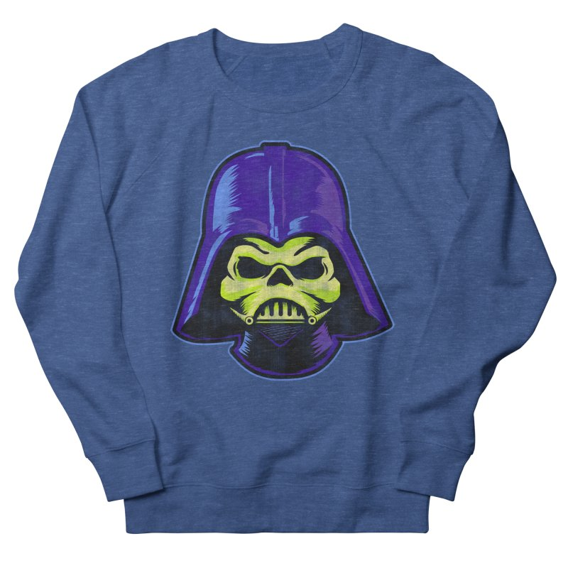 Skelevader Women's French Terry Sweatshirt by Gamma Bomb - Explosively Mutating Your Look