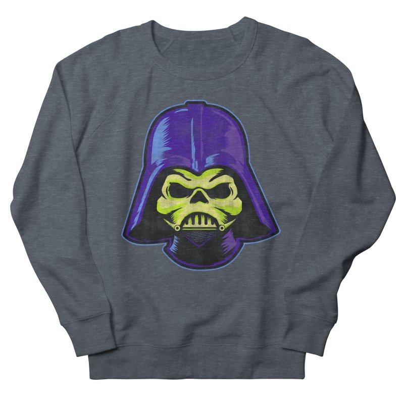 Skelevader Men's French Terry Sweatshirt by Gamma Bomb - Explosively Mutating Your Look