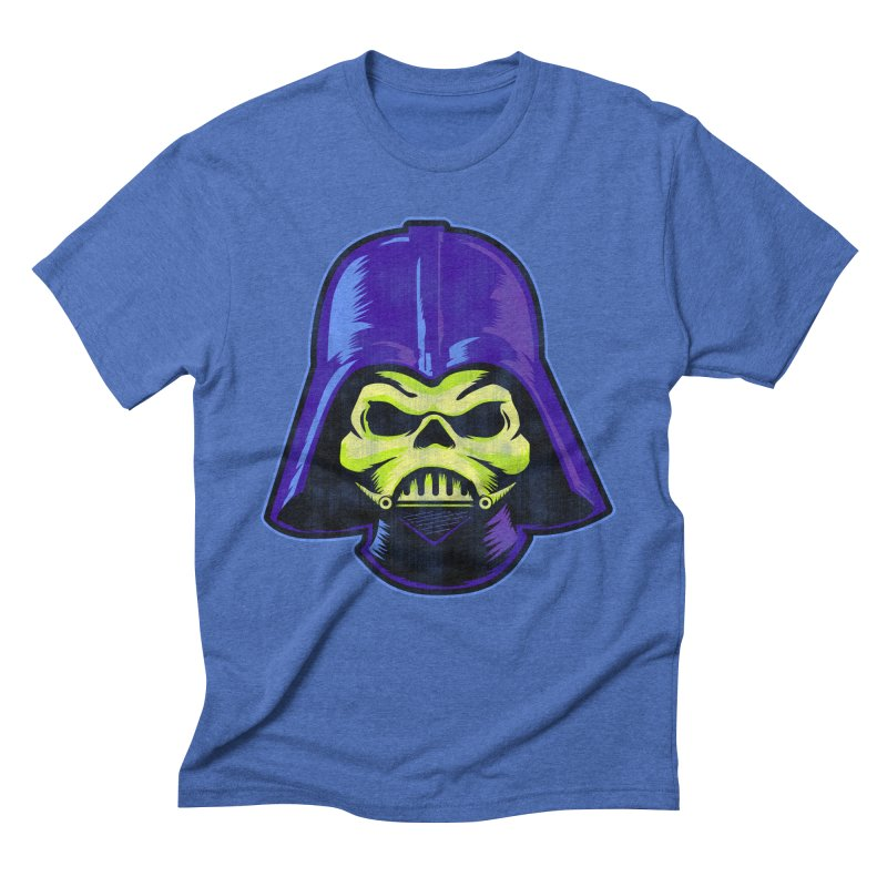 Skelevader Men's Triblend T-Shirt by Gamma Bomb - Explosively Mutating Your Look