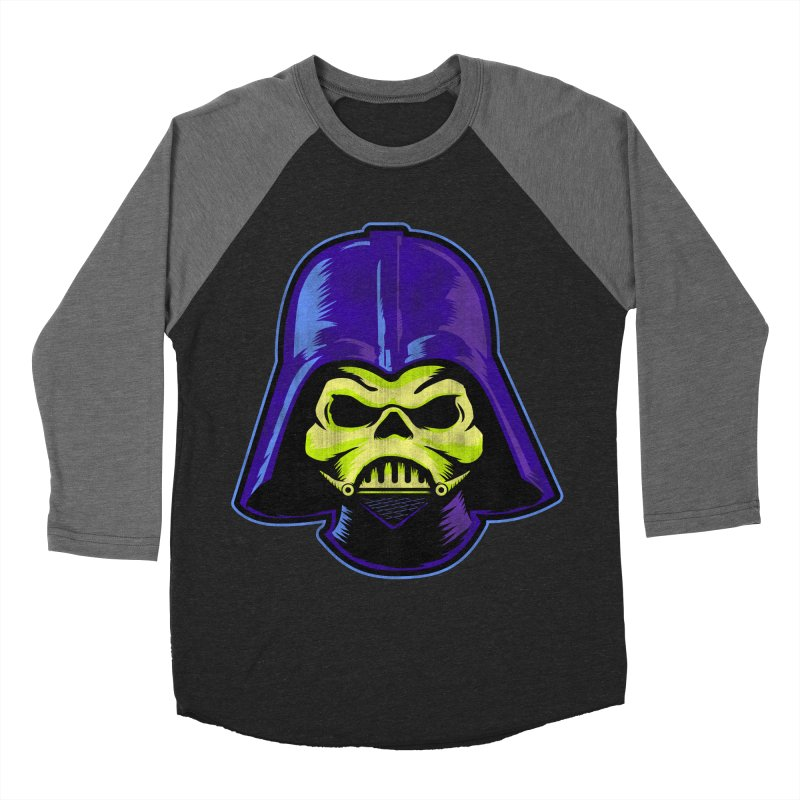 Skelevader Women's Baseball Triblend Longsleeve T-Shirt by Gamma Bomb - Explosively Mutating Your Look