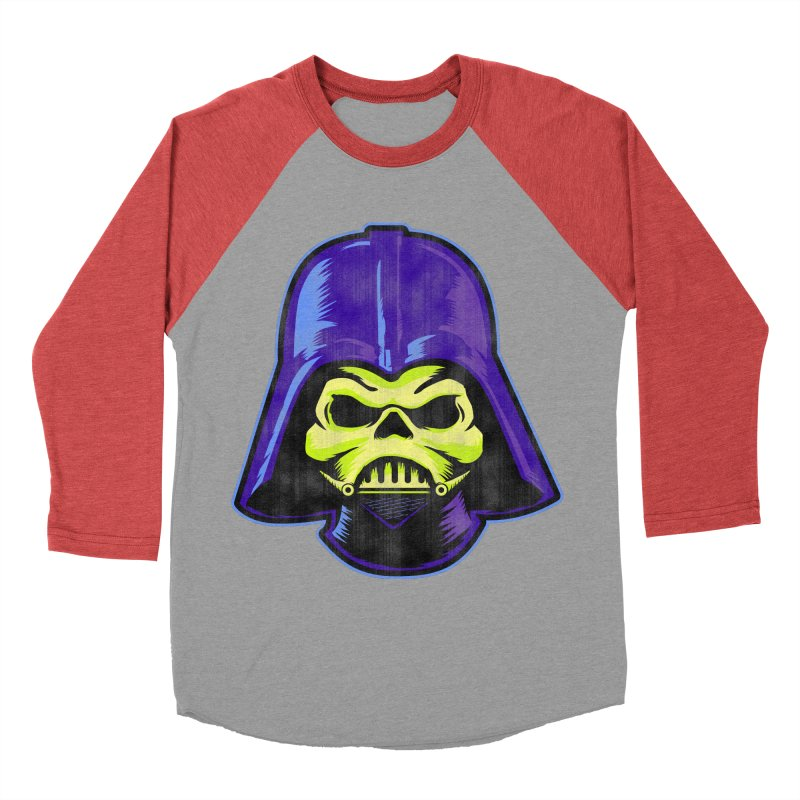 Skelevader Men's Baseball Triblend Longsleeve T-Shirt by Gamma Bomb - Explosively Mutating Your Look