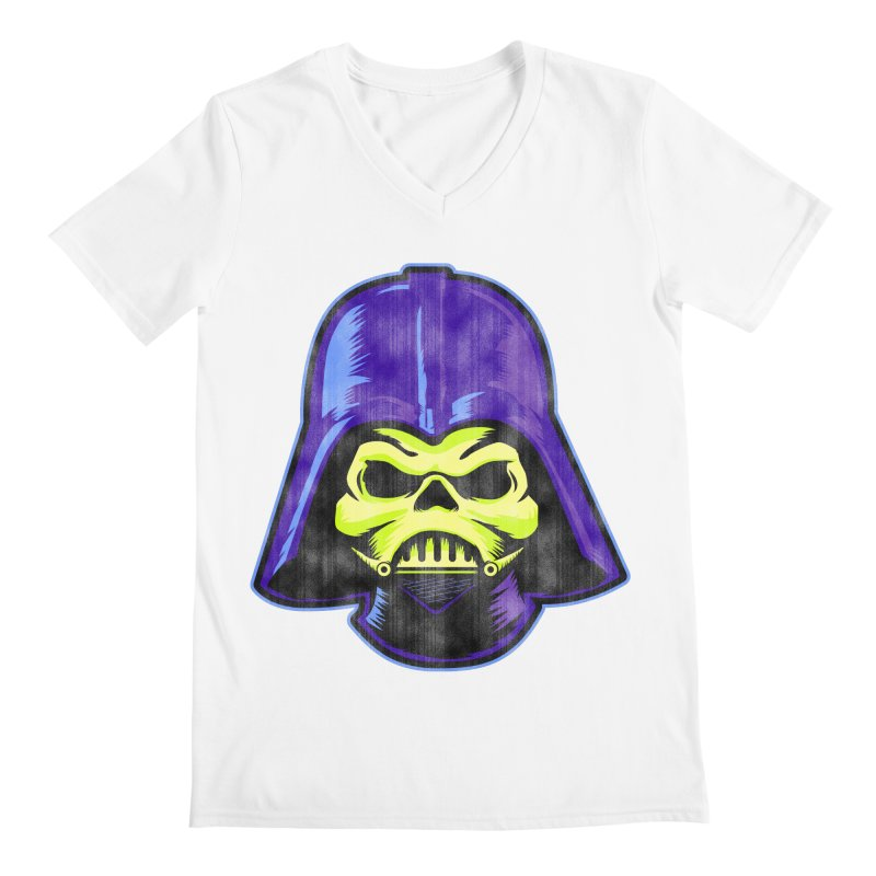 Skelevader Men's Regular V-Neck by Gamma Bomb - Explosively Mutating Your Look