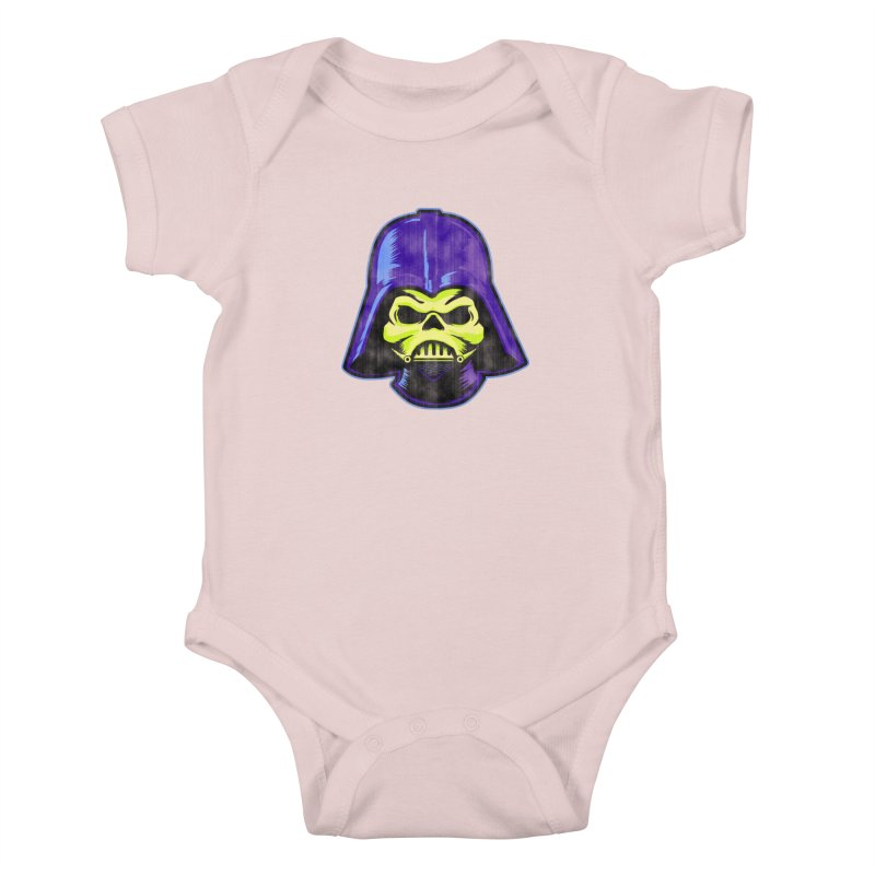 Skelevader Kids Baby Bodysuit by Gamma Bomb - Explosively Mutating Your Look
