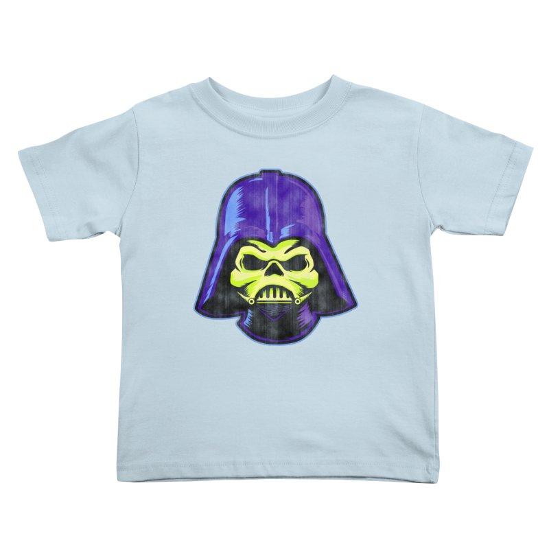 Skelevader Kids Toddler T-Shirt by Gamma Bomb - A Celebration of Imagination