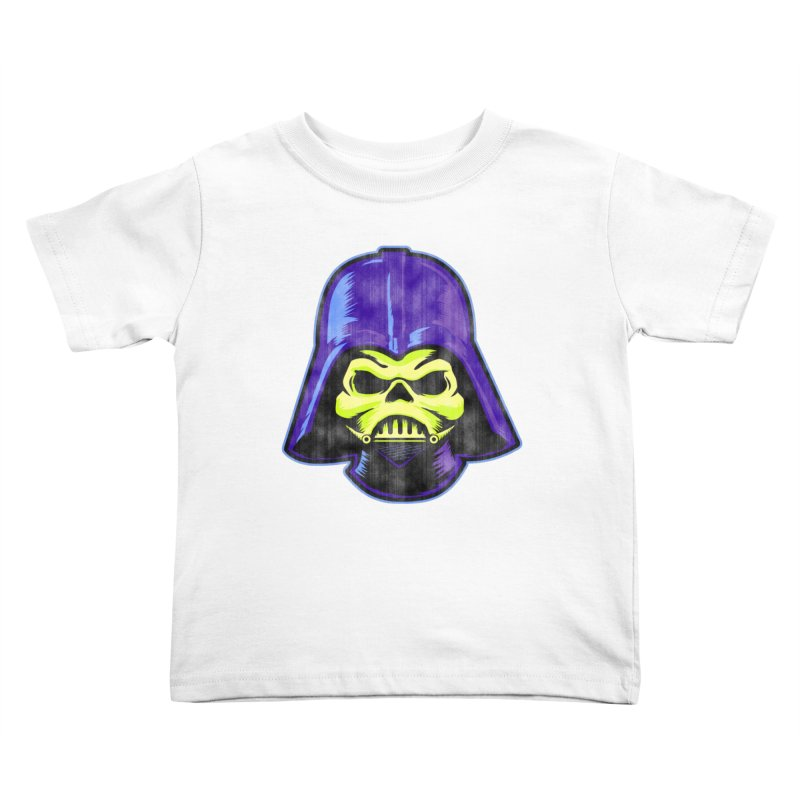 Skelevader Kids Toddler T-Shirt by Gamma Bomb - Explosively Mutating Your Look