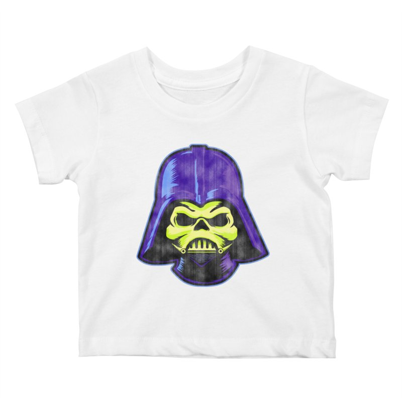 Skelevader Kids Baby T-Shirt by Gamma Bomb - Explosively Mutating Your Look