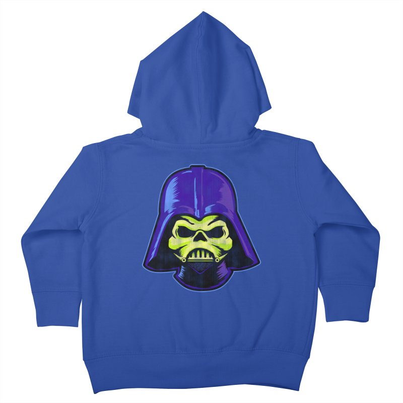 Skelevader Kids Toddler Zip-Up Hoody by Gamma Bomb - A Celebration of Imagination