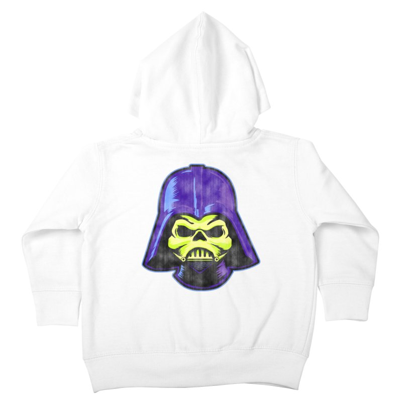 Skelevader Kids Toddler Zip-Up Hoody by Gamma Bomb - Explosively Mutating Your Look