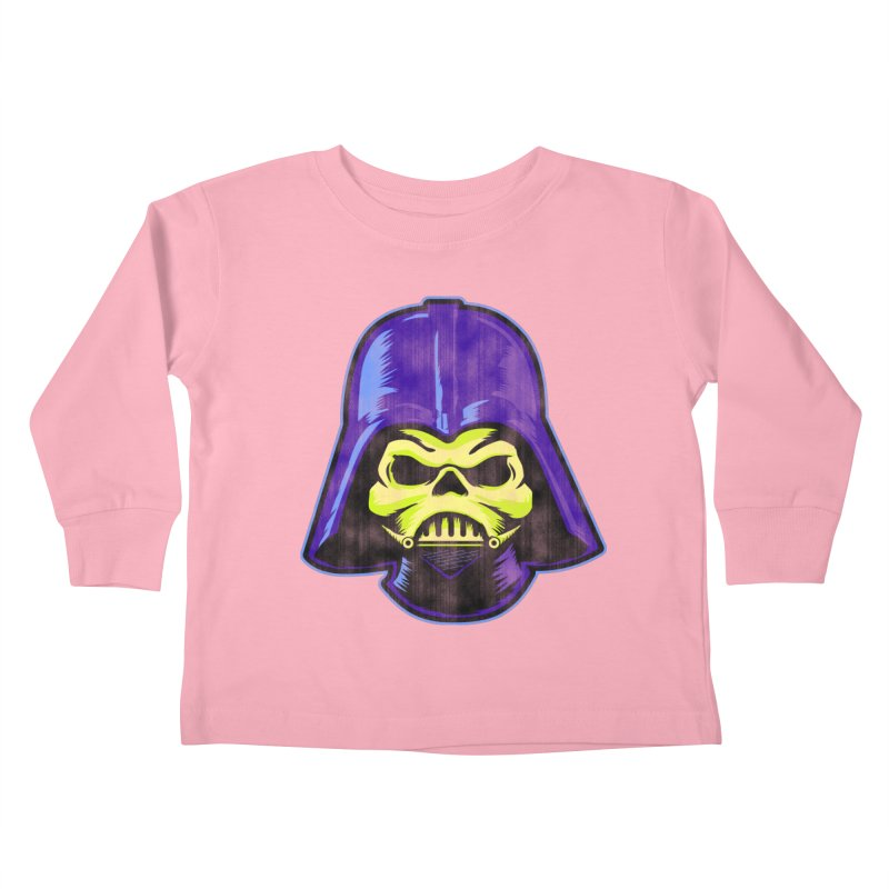 Skelevader Kids Toddler Longsleeve T-Shirt by Gamma Bomb - Explosively Mutating Your Look