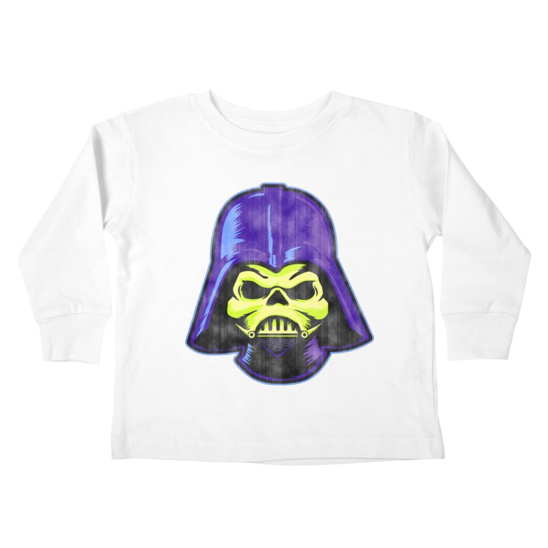 Skelevader Kids Toddler Longsleeve T-Shirt by Gamma Bomb - A Celebration of Imagination