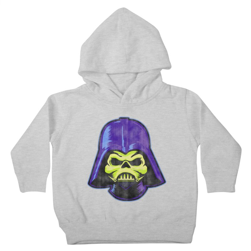 Skelevader Kids Toddler Pullover Hoody by Gamma Bomb - A Celebration of Imagination