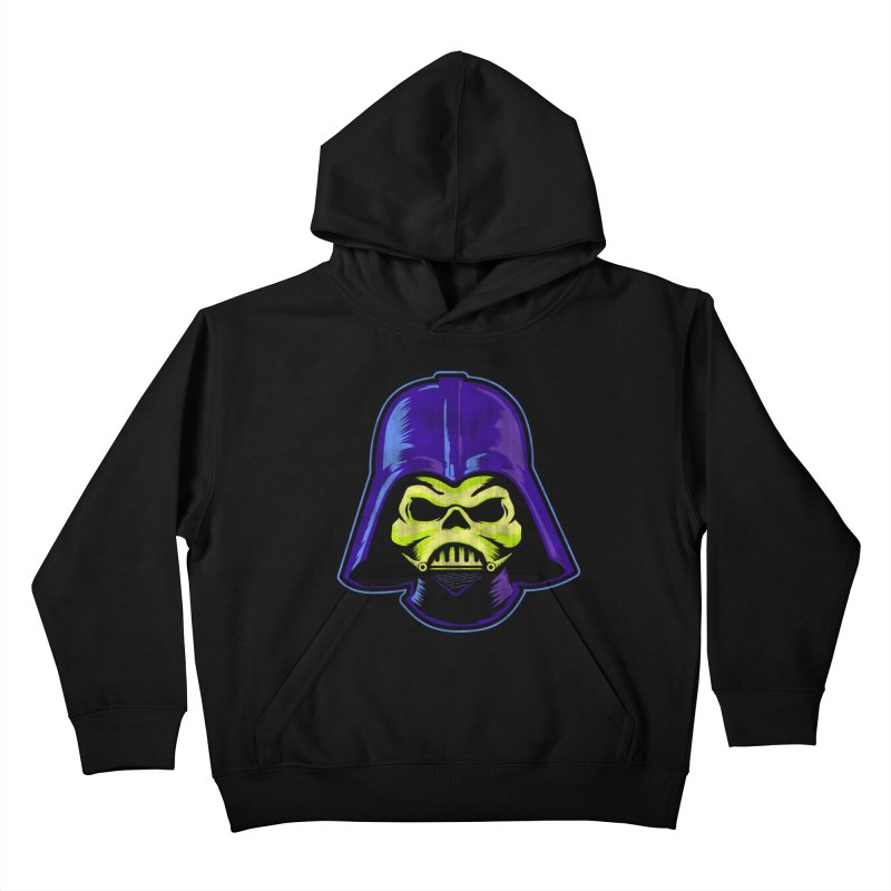 Skelevader Kids Pullover Hoody by Gamma Bomb - Explosively Mutating Your Look