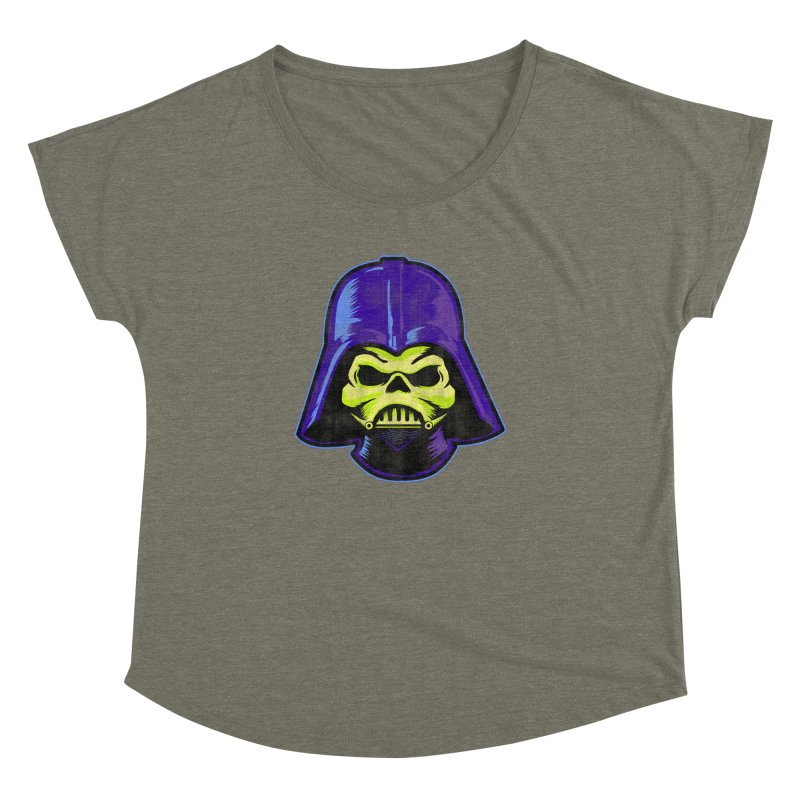 Skelevader Women's Dolman Scoop Neck by Gamma Bomb - Explosively Mutating Your Look