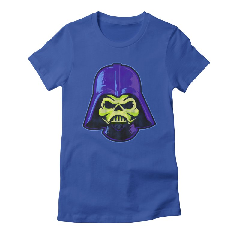 Skelevader Women's Fitted T-Shirt by Gamma Bomb - Explosively Mutating Your Look