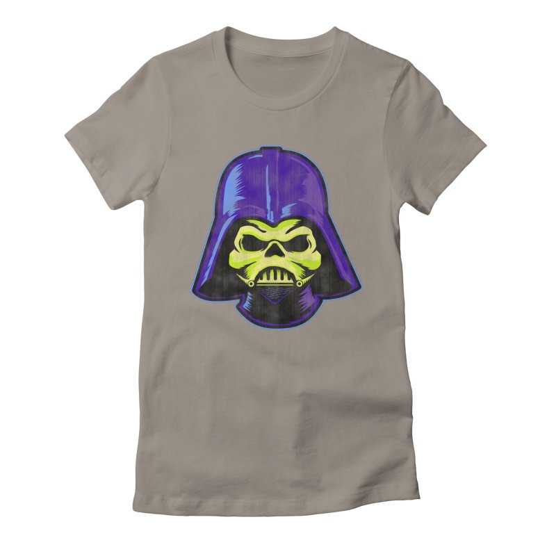 Skelevader Women's Fitted T-Shirt by Gamma Bomb - A Celebration of Imagination
