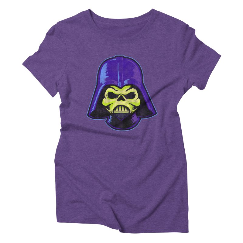 Skelevader Women's Triblend T-Shirt by Gamma Bomb - Explosively Mutating Your Look