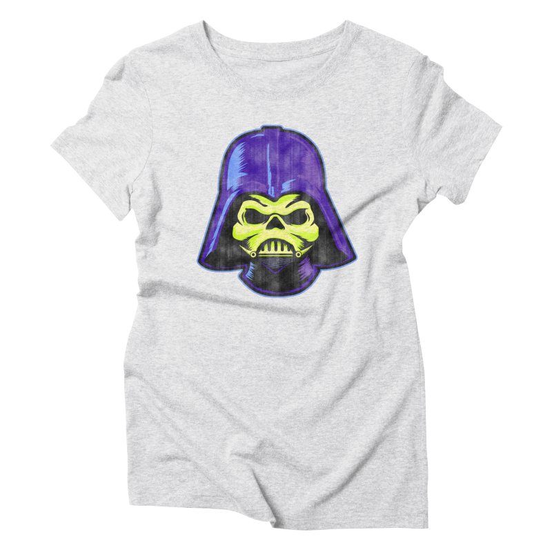 Skelevader Women's Triblend T-Shirt by Gamma Bomb - A Celebration of Imagination