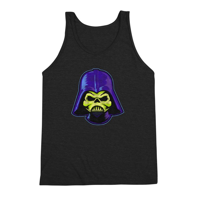 Skelevader Men's Triblend Tank by Gamma Bomb - Explosively Mutating Your Look