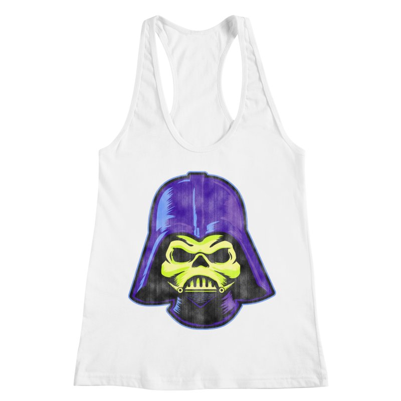 Skelevader Women's Racerback Tank by Gamma Bomb - Explosively Mutating Your Look