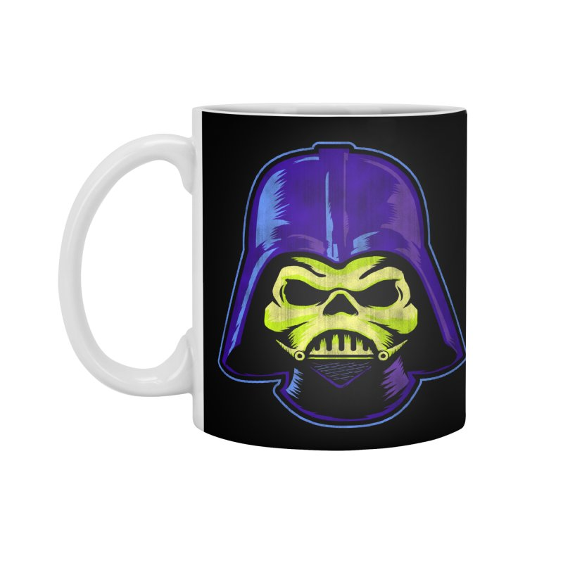 Skelevader Accessories Mug by Gamma Bomb - A Celebration of Imagination