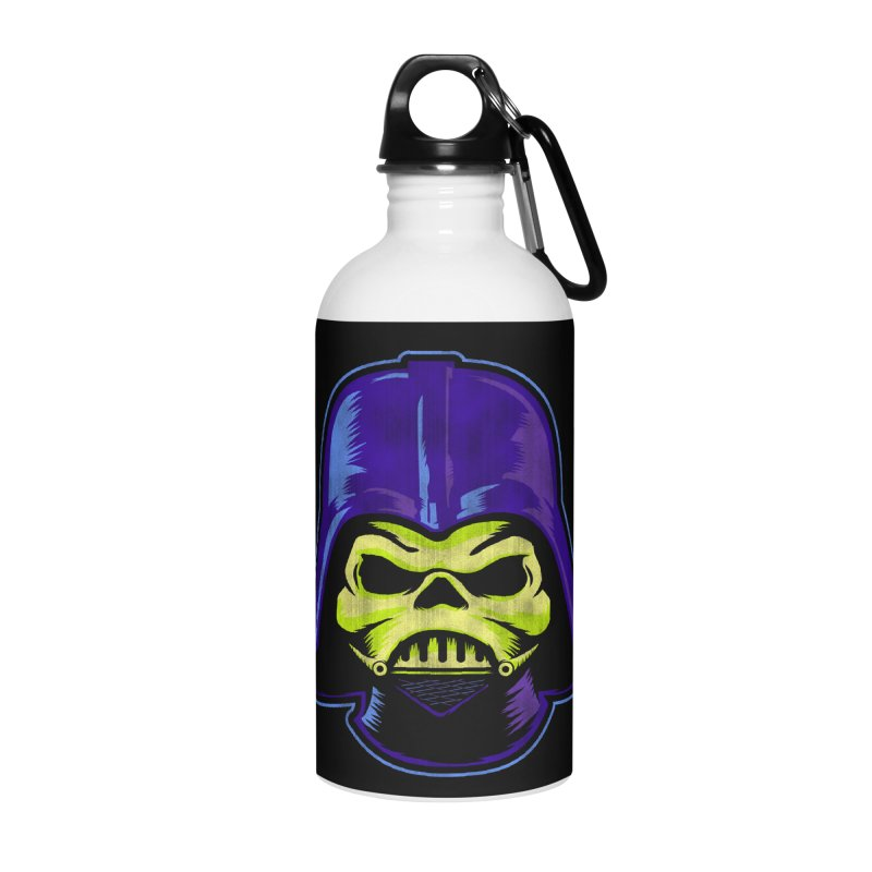 Skelevader Accessories Water Bottle by Gamma Bomb - Explosively Mutating Your Look