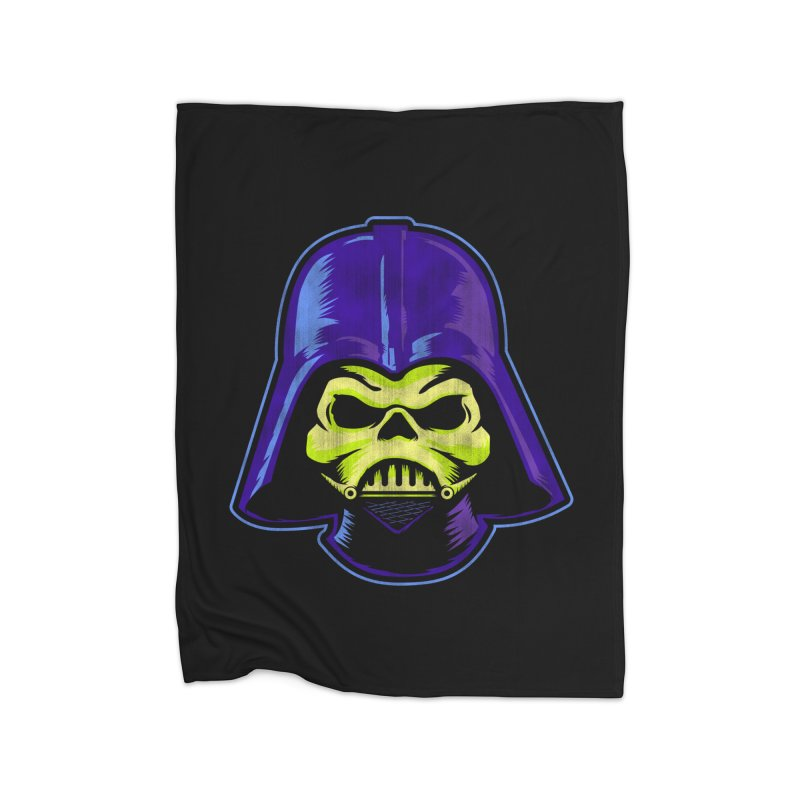 Skelevader Home Blanket by Gamma Bomb - A Celebration of Imagination