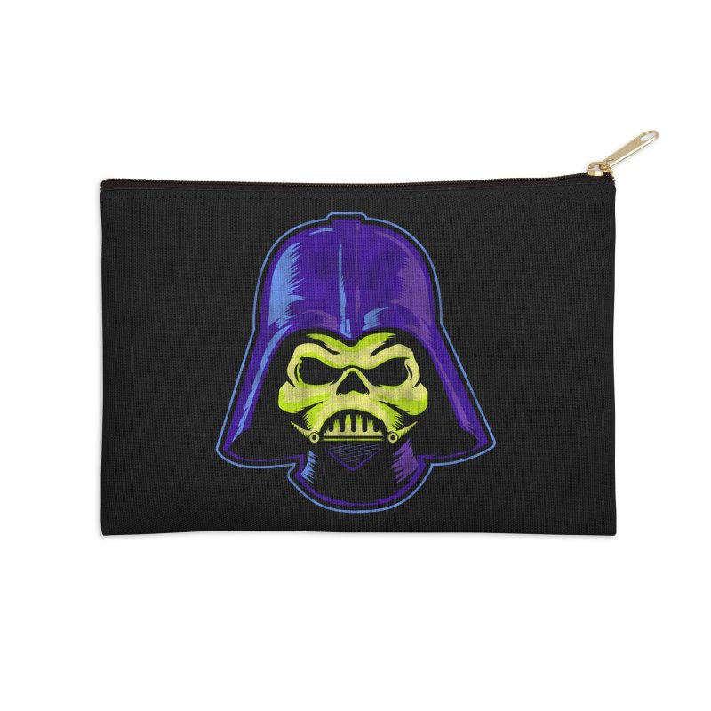 Skelevader Accessories Zip Pouch by Gamma Bomb - A Celebration of Imagination