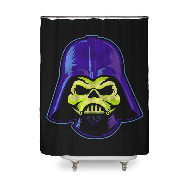 Skelevader Home Shower Curtain by Gamma Bomb - Explosively Mutating Your Look