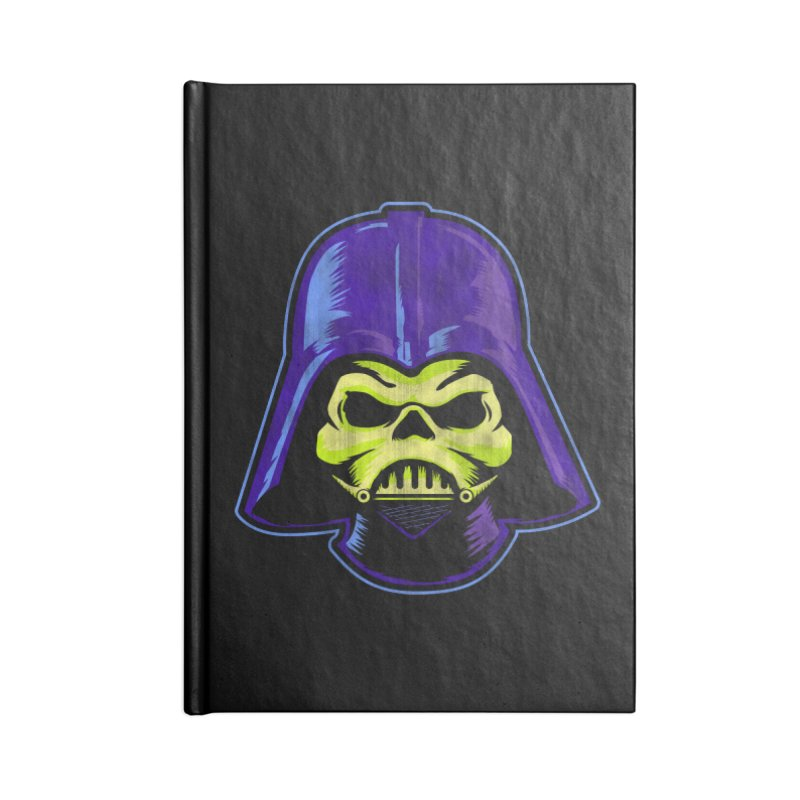 Skelevader Accessories Blank Journal Notebook by Gamma Bomb - Explosively Mutating Your Look