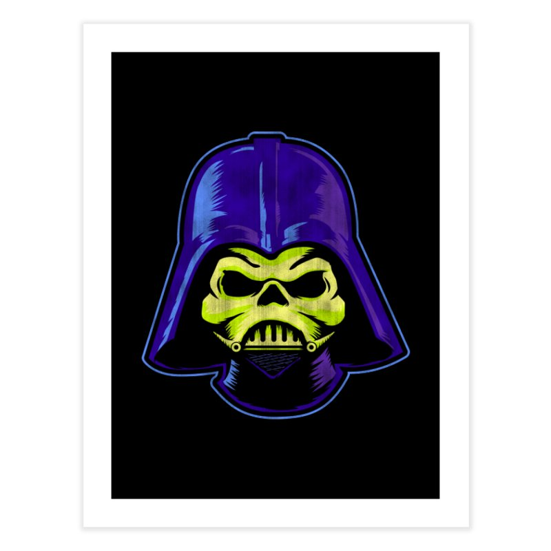 Skelevader Home Fine Art Print by Gamma Bomb - Explosively Mutating Your Look