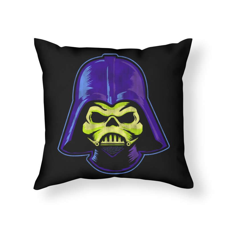 Skelevader Home Throw Pillow by Gamma Bomb - A Celebration of Imagination
