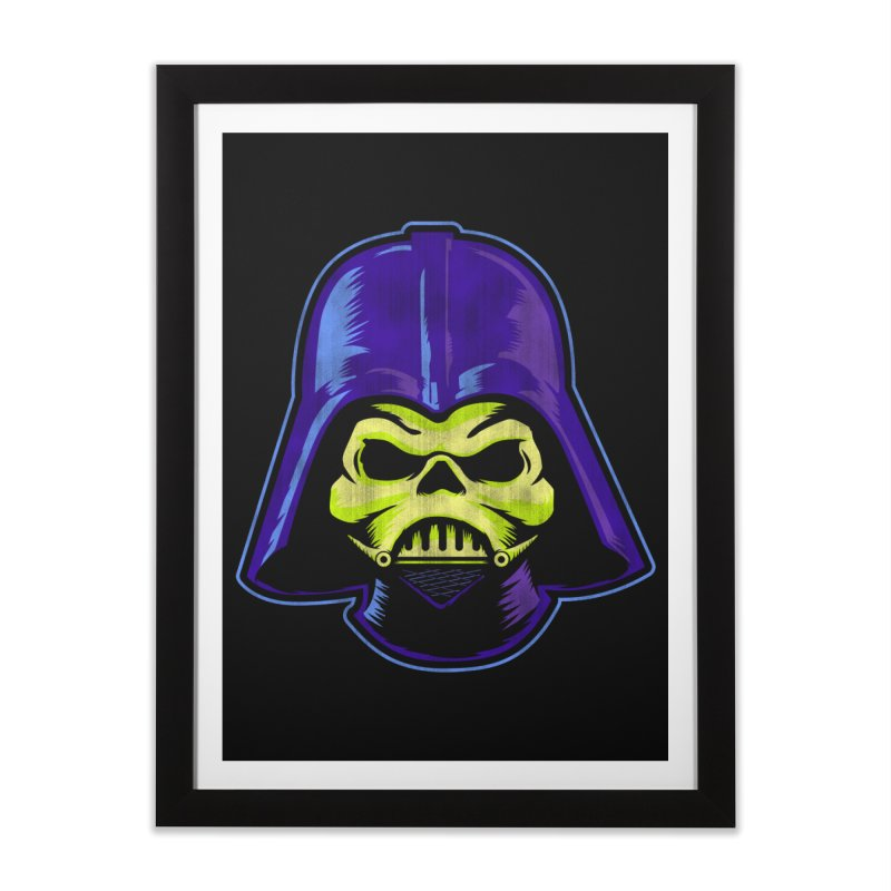 Skelevader Home Framed Fine Art Print by Gamma Bomb - Explosively Mutating Your Look