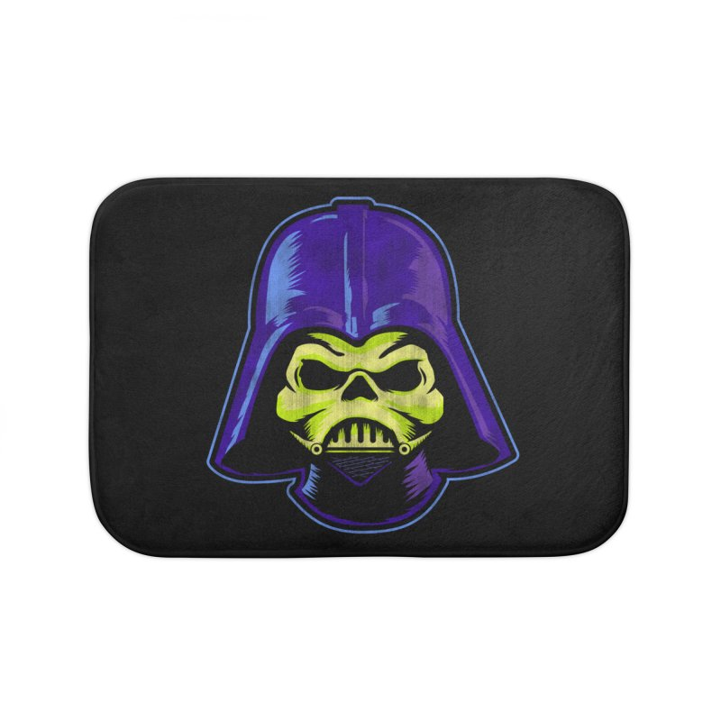 Skelevader Home Bath Mat by Gamma Bomb - A Celebration of Imagination