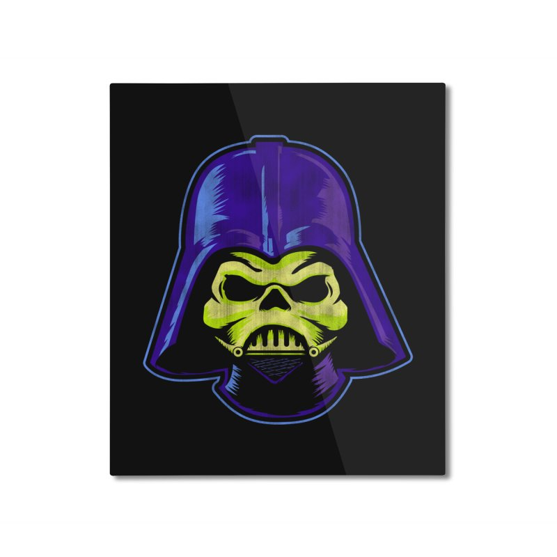 Skelevader Home Mounted Aluminum Print by Gamma Bomb - Explosively Mutating Your Look