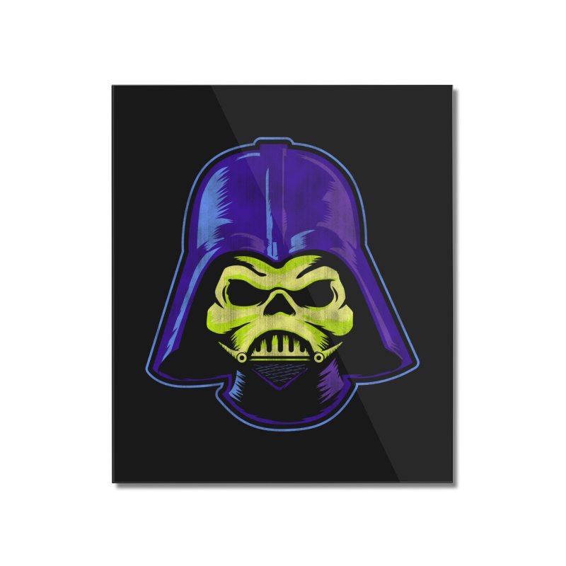 Skelevader Home Mounted Acrylic Print by Gamma Bomb - Explosively Mutating Your Look