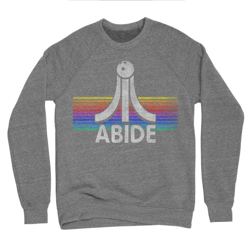 Abide Men's Sponge Fleece Sweatshirt by Gamma Bomb - Explosively Mutating Your Look
