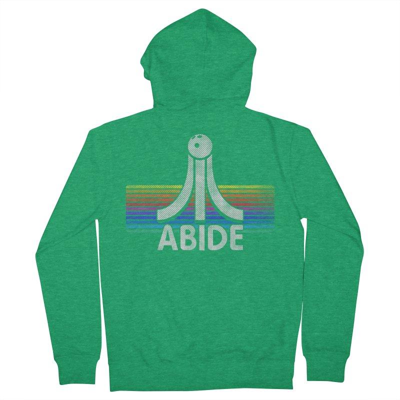 Abide Women's Zip-Up Hoody by Gamma Bomb - Explosively Mutating Your Look