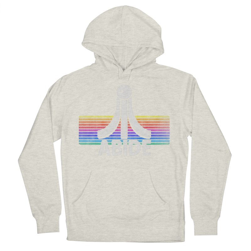 Abide Men's French Terry Pullover Hoody by Gamma Bomb - Explosively Mutating Your Look