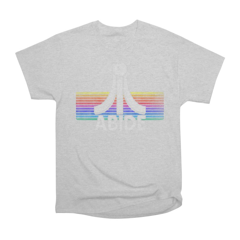 Abide Women's Heavyweight Unisex T-Shirt by Gamma Bomb - Explosively Mutating Your Look
