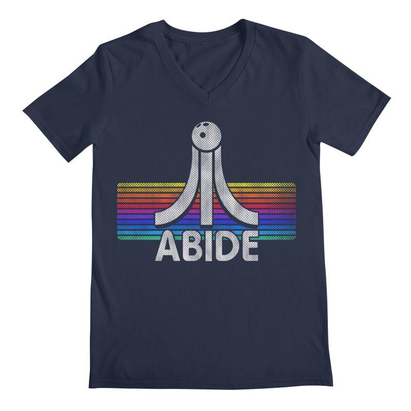 Abide Men's Regular V-Neck by Gamma Bomb - Explosively Mutating Your Look